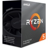 AMD Ryzen 5 3600 procesador 3,6 GHz 32 MB L3 Caja AMD Ryzen 5, Zócalo AM4, PC, 7 nm, AMD, 3,6 GHz, en caja