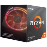 AMD Ryzen 7 3700X, Procesador AMD Ryzen 7, Zócalo AM4, PC, 7 nm, AMD, 3,6 GHz, en caja